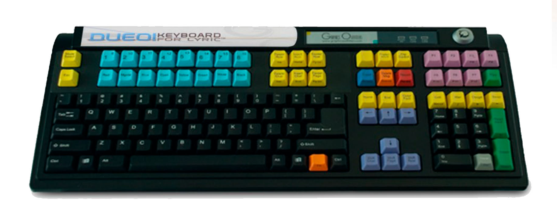 DUEO! KEYBOARD FOR LYRIC™